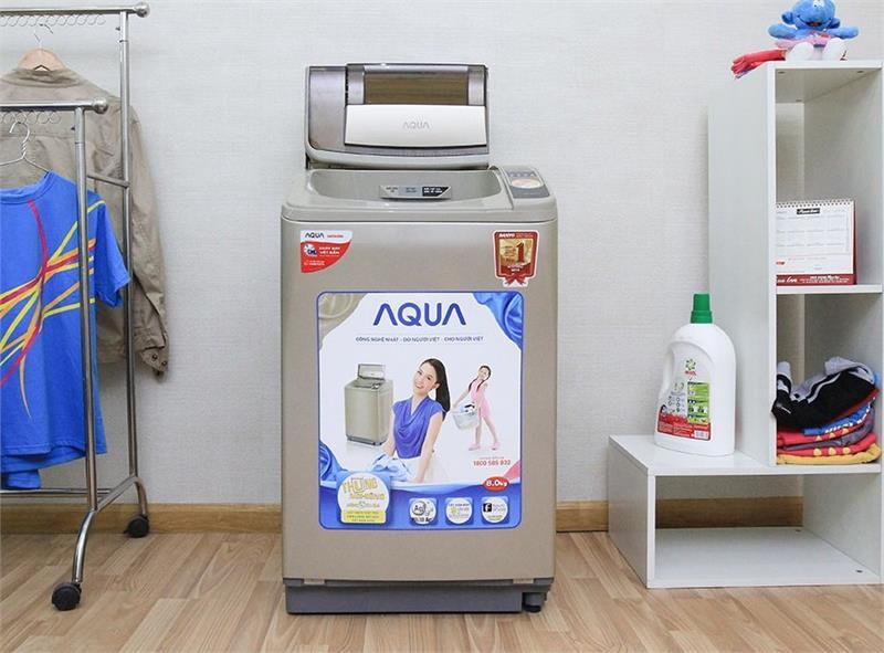 Máy giặt Aqua báo lỗi E4, E8, Unb – Nguyên nhân và cách khắc phục
